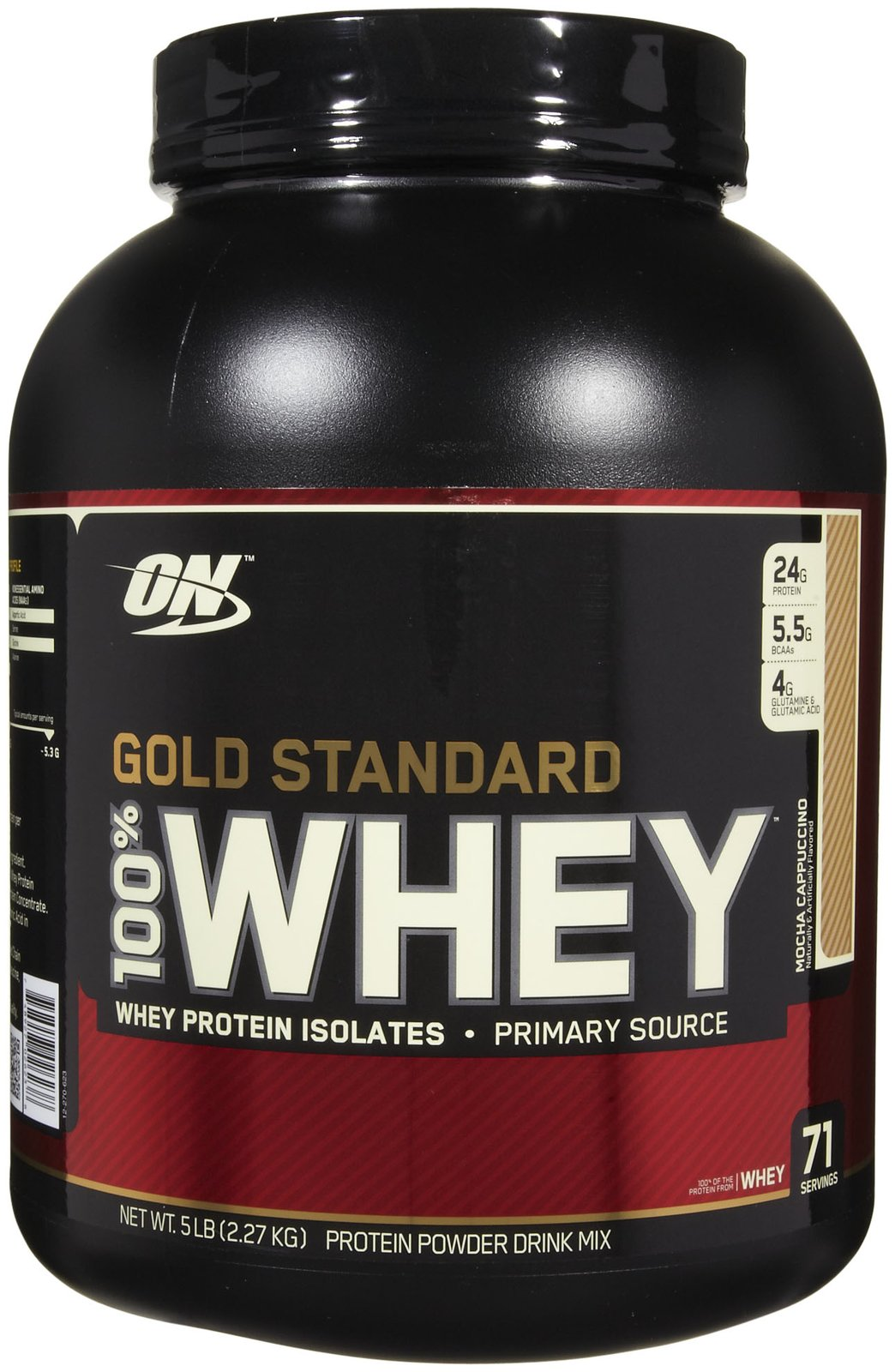 Optimum Nutrition Gold Standard 100 Whey Protein Review Mocha Cappuccino Gains Lifestyle